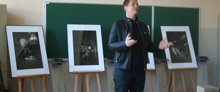 Otvoritev interaktivne fotografske razstave Boštjana Bračiča, 27. marca 2017, ob 14. uri